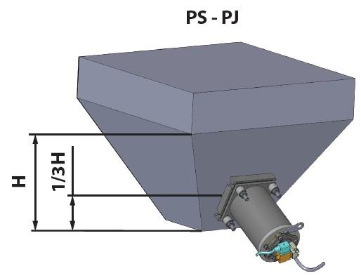 意大利振动器PJ40/PJ60/PJ80安装位置