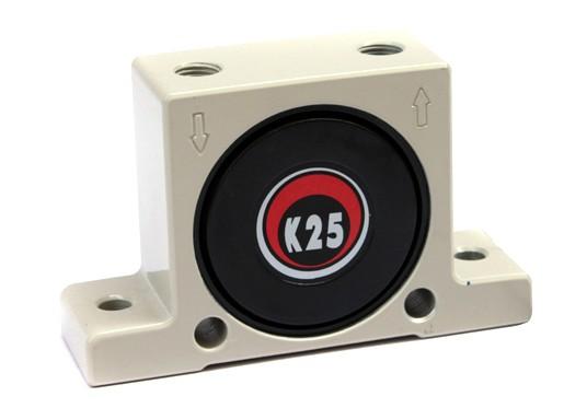 k25震动器,K25气动振动器,K25仓壁振动器,k25空气振打器参数与尺寸介绍点击进入