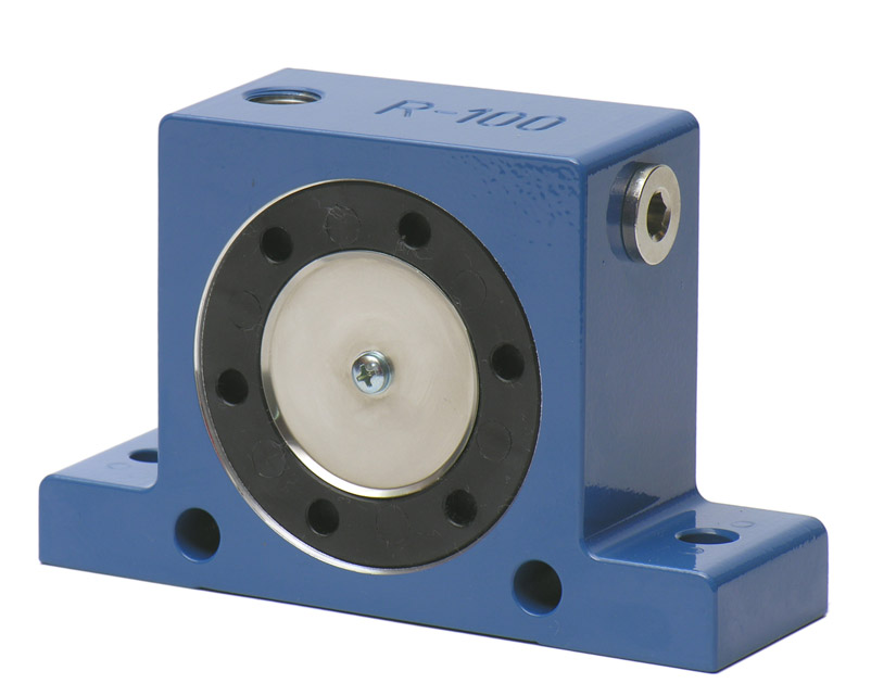 r100震动器,r100气动振动器,r100仓壁振动器,r100空气振打器参数与尺寸介绍点击进入