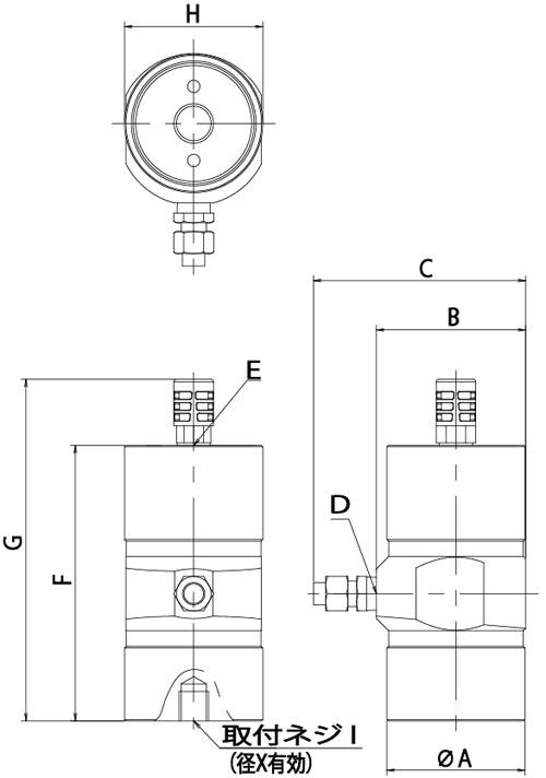 日本气动活塞振动器,epv12,epv18,epv25,epv35