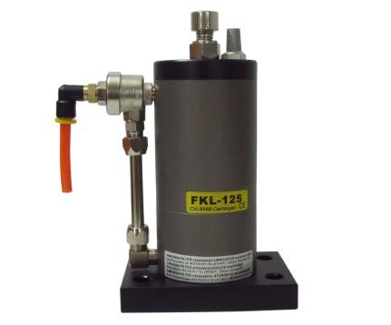 空气锤FKL125,气锤FKL125,气动敲击锤参数与尺寸介绍点击进入